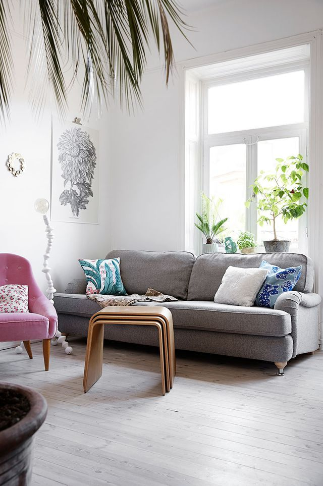 Bright heirloom apartment with a twist (Daily Dream Decor