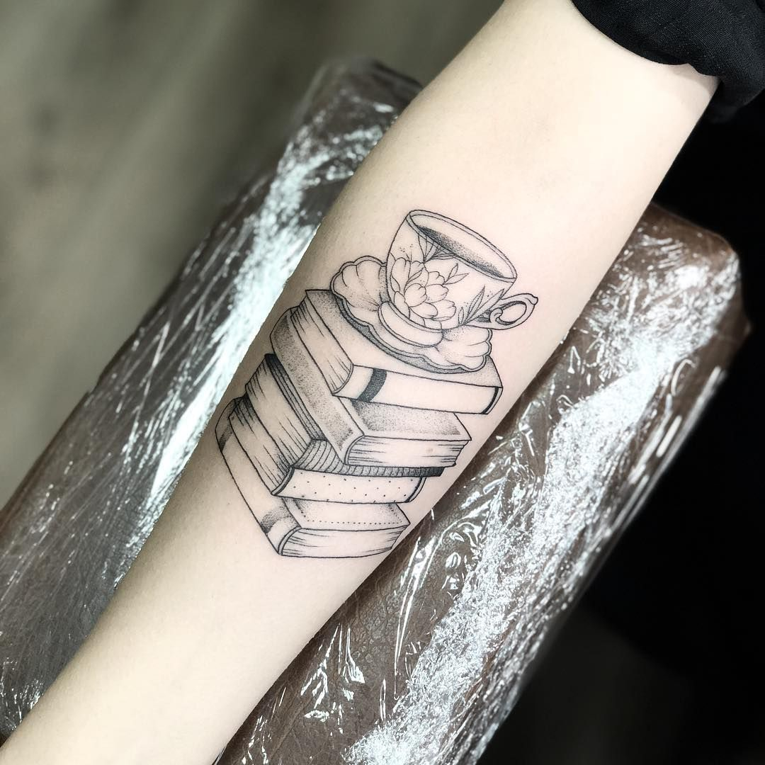 Being A Book Lover Isn T Just A Hobby It S A Way Of Life For Bibliophiles The Stories We Delve Into Become Very Im Book Tattoo Bookish Tattoos Nerdy Tattoos