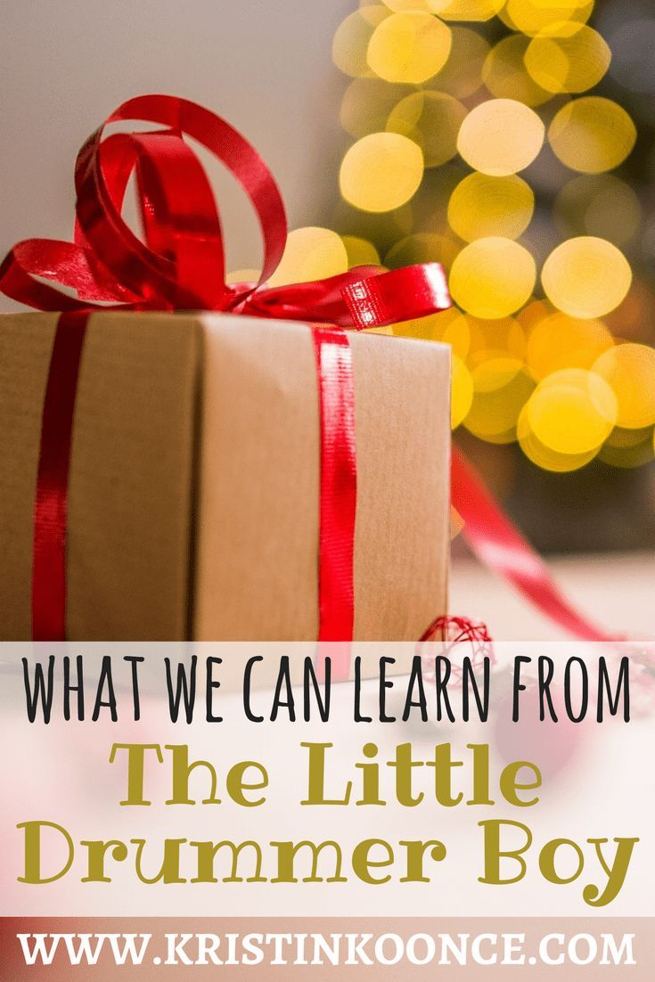 What We Can Learn from the Little Drummer Boy   Drummer boy ...