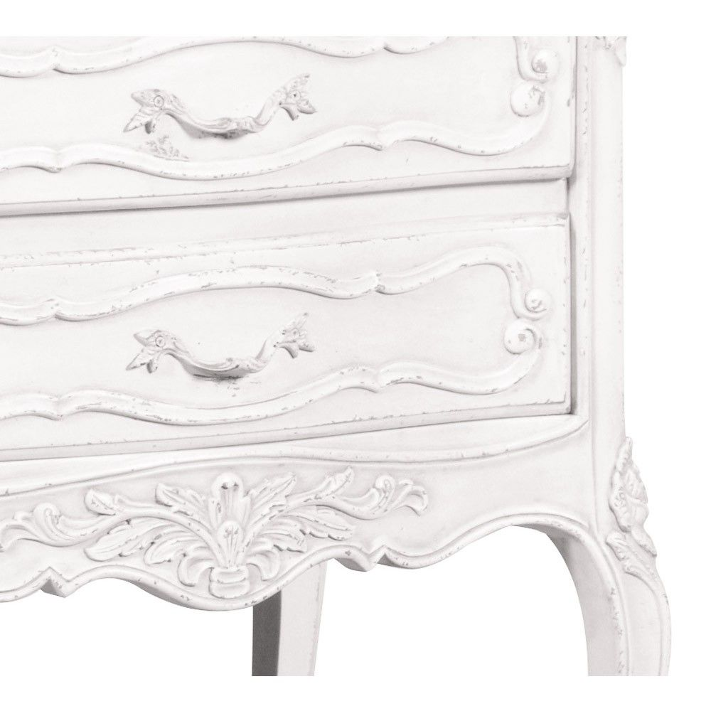 Provencal ruched bedside table white french bedside table provencal ruched bedside table white french bedside table watchthetrailerfo