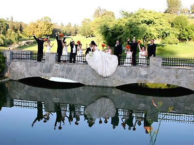Friendly Hills Country Club Outdoor Wedding Location Los Angeles 90605