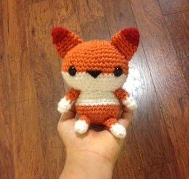 Mini fox Free pattern Amigurumi