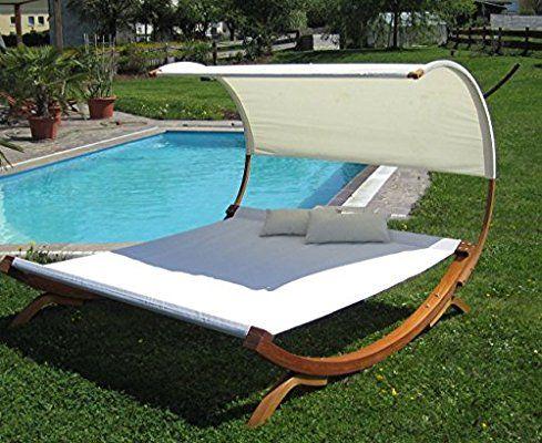 Xxl Sonnenliege Doppelliege Gartenliege Hangematte Doppel Liege Gartenmobel Extrabreit Fur 2 Personen M Beach Lounge Chair Modern Outdoor Chairs Outdoor Lounge