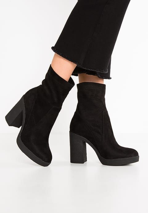 huge selection of 2a1a3 df43e CAFèNOIR Bottines à talons hauts - nero - ZALANDO.FR | These ...