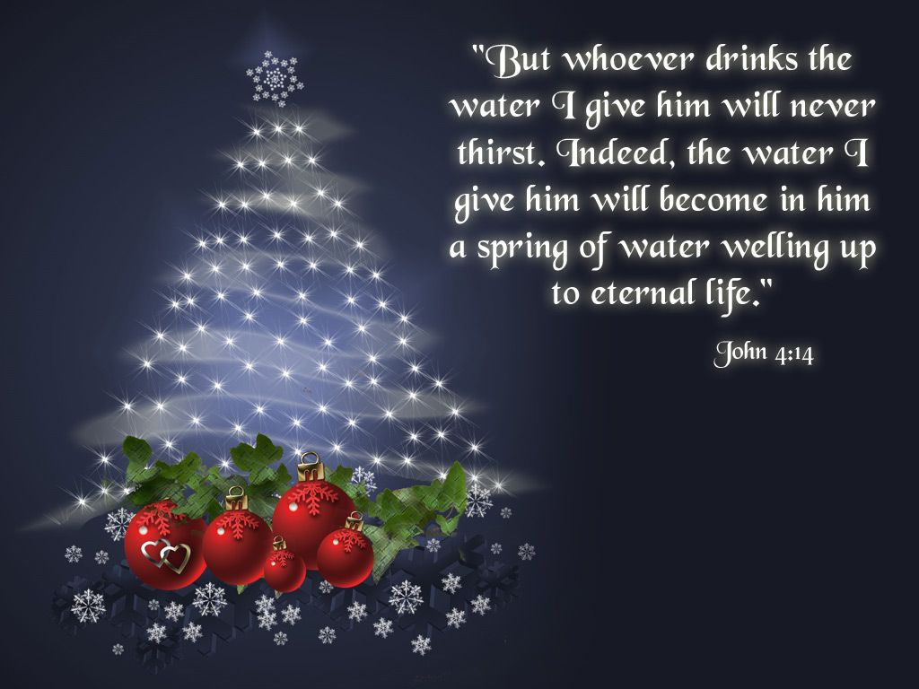 Free Wallpaper Christian John 414 Crafty Christmas Christ Is