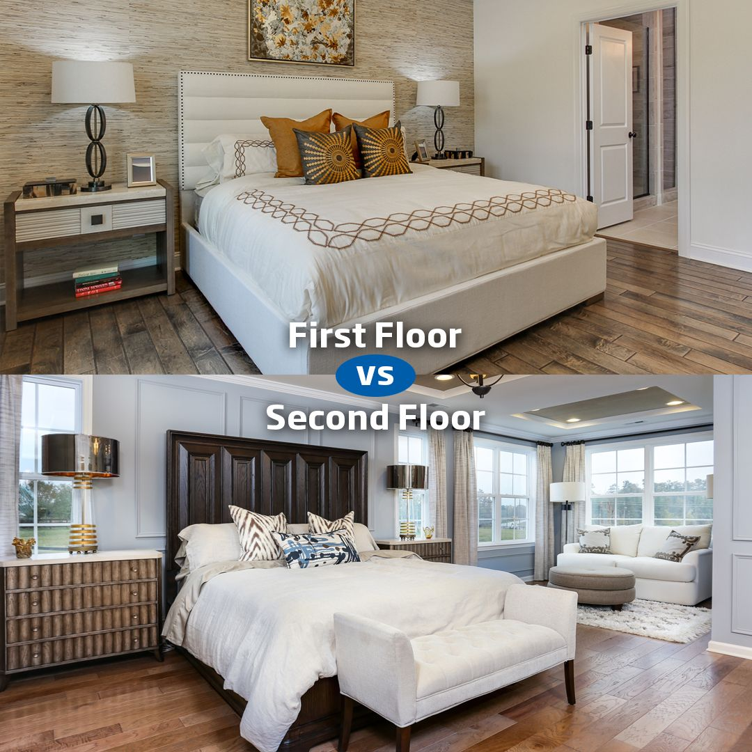 Master bedroom on first floor  Which floor would you prefer your master bedroom to be on