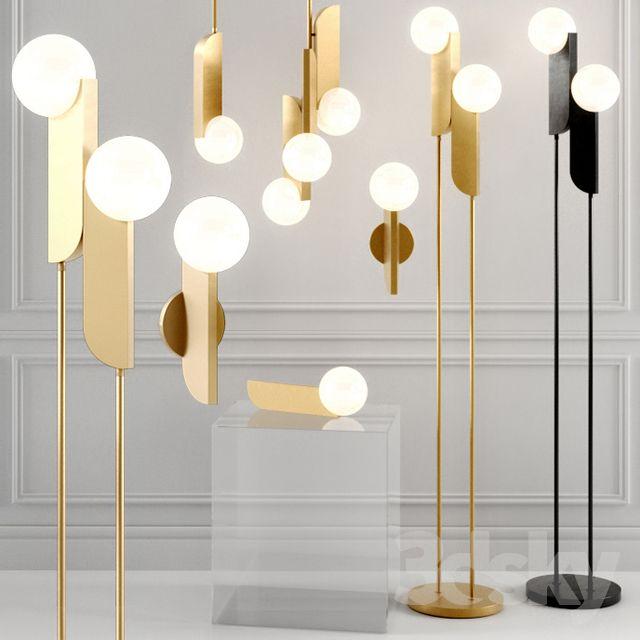 West Elm Bower Led Lamp Brass Floor Lamp Led Lamp Contemporary Lamps