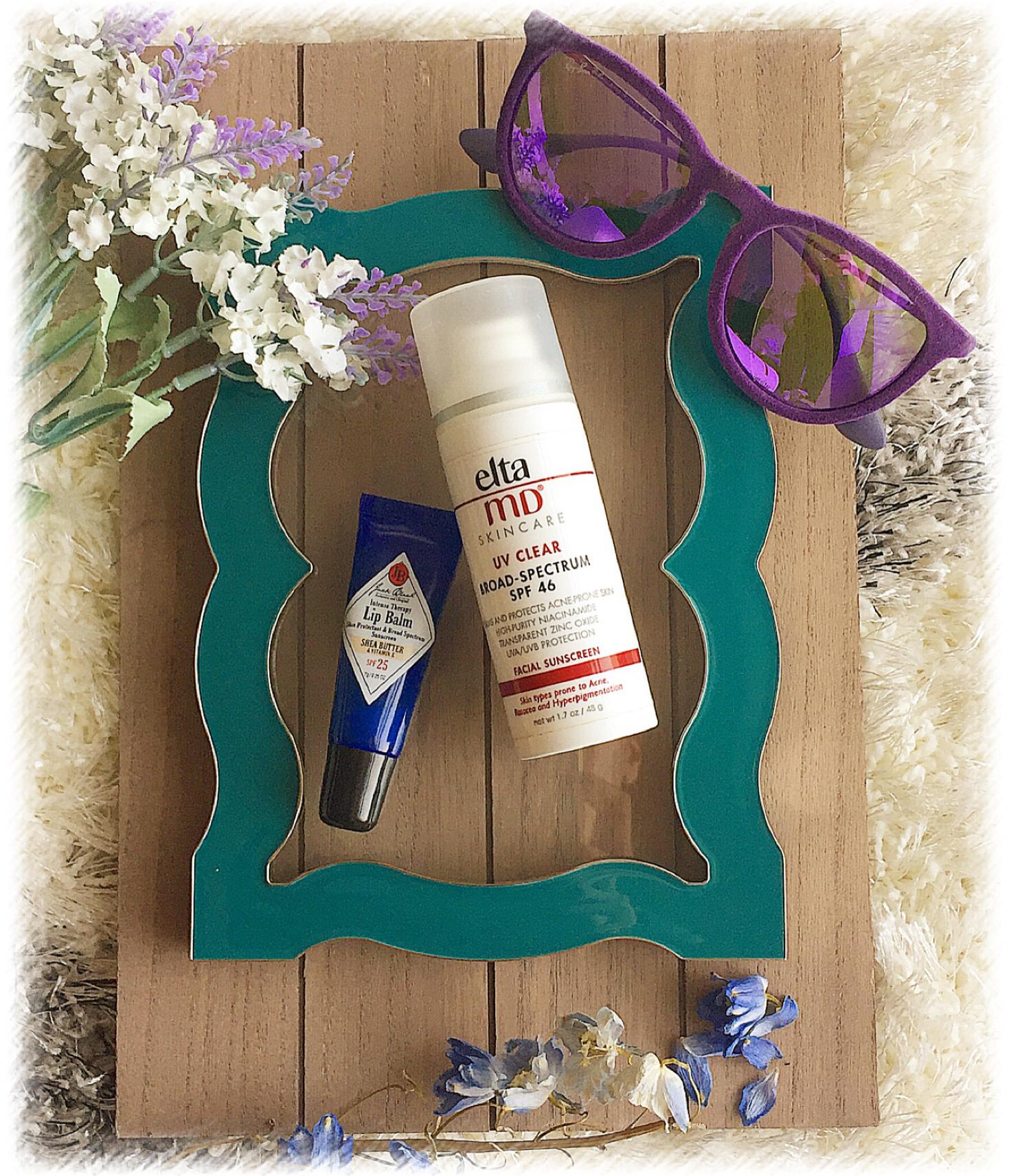 Rain or shine / daily sunscreen essentials