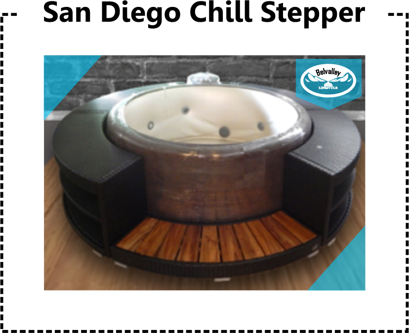 Jacuzzi Softub Spa Surround San Diego by