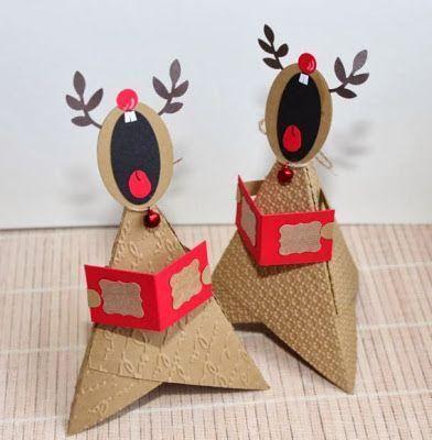 Weihnachtliche Deko #weihnachtsbastelnmitkindernunter3 Weihnachtliche Deko