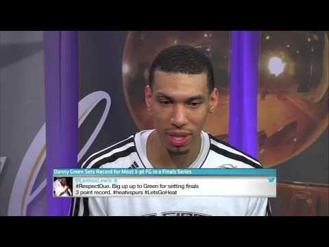 Danny Green Discusses Big Game, Break NBA Finals Records for Most 3's
