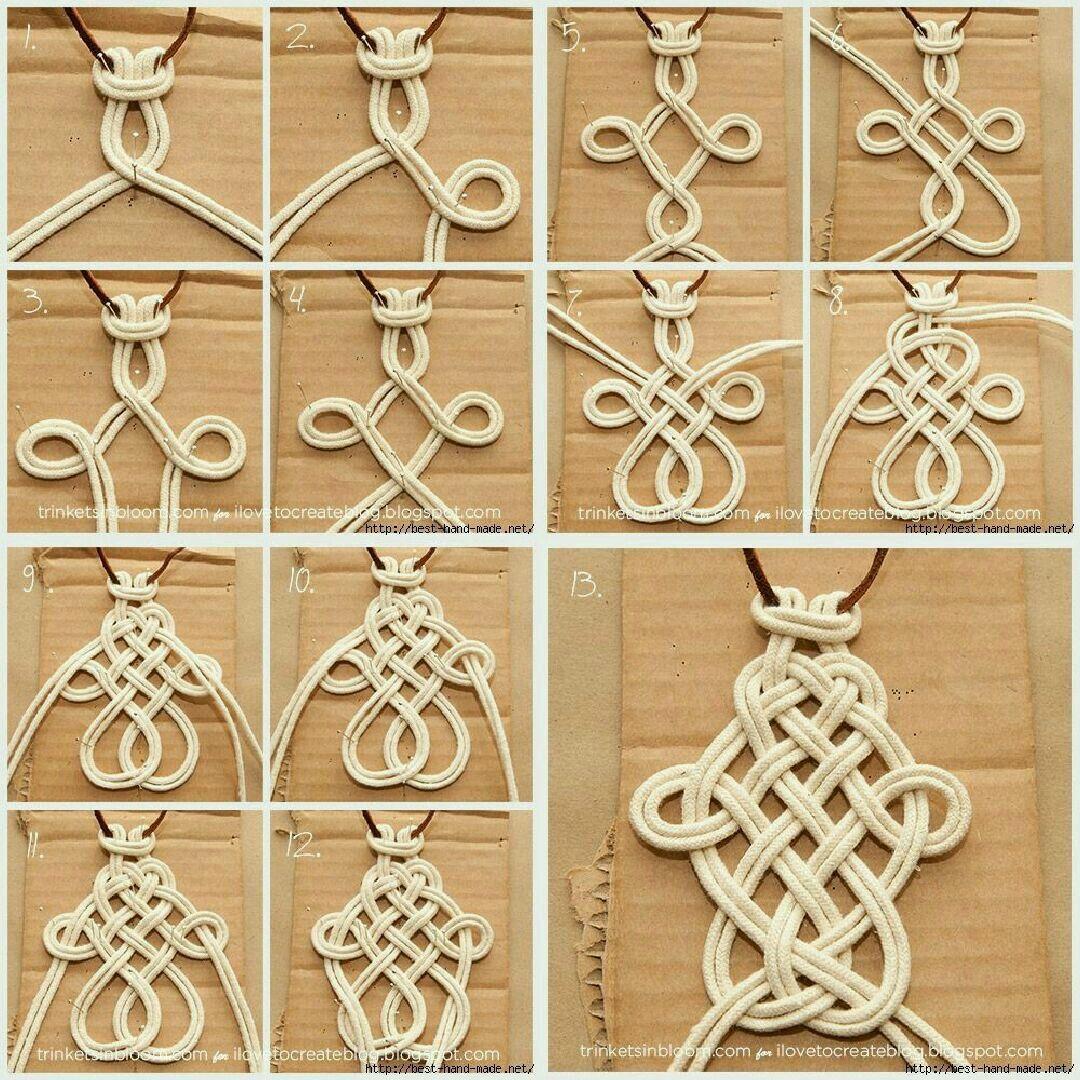 Pin by auro cg on celtas knots pinterest macrame knots craft