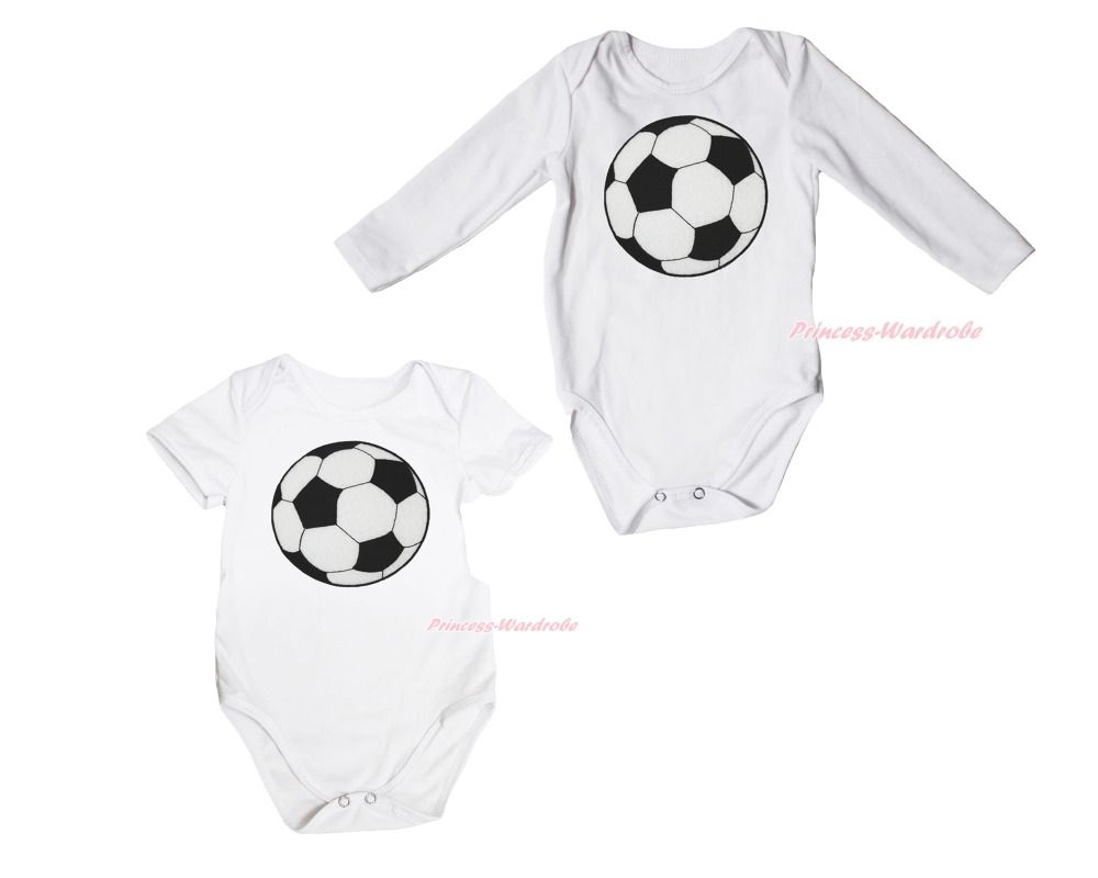 >> Click to Buy << World Cup Football Sports White One Piece Baby Girl Bodysuit Jumpsuit NB-18Month #Affiliate