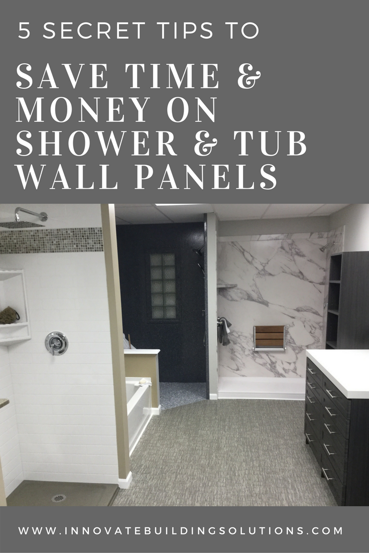 5 Secret Tips to Save Time and Money Selecting Shower and Tub Wall ...