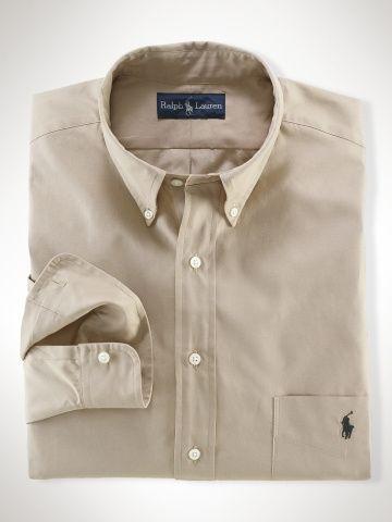 Beige Ralph Lauren Shirt