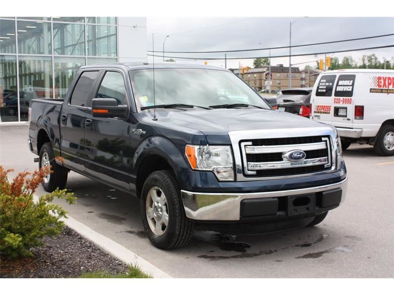 """Truck - 2013 Ford F-150 XLT 4X2 CREW CRUISE SYNC in Midland, ON  $26,500"""