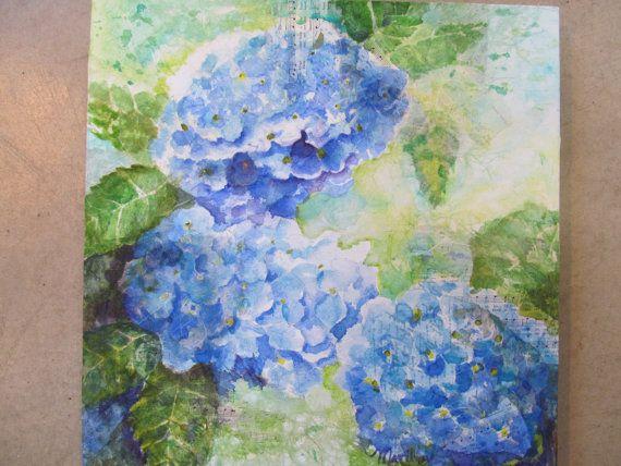 Hydrangas by PaintingsbyMarilyn on Etsy, $150.00