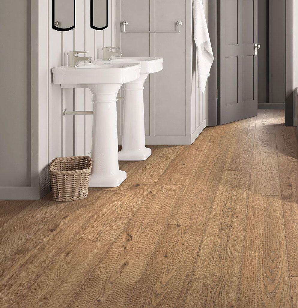 Say Hello To Brier Creek Oak This Warm Rustic Floor Features Longer Wider Planks That Create A Truly Custom Lo Rustic Flooring Modern Flooring Flooring Cost