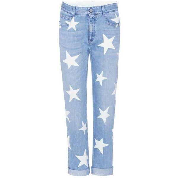 Étoile Jean Imprimé - Bleu Stella Mccartney hj3vRWUav