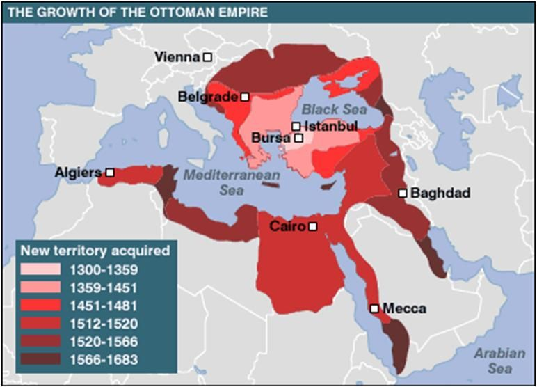 Ottoman Empire 1299 1923 The Ruler Of The Southeastern Europe