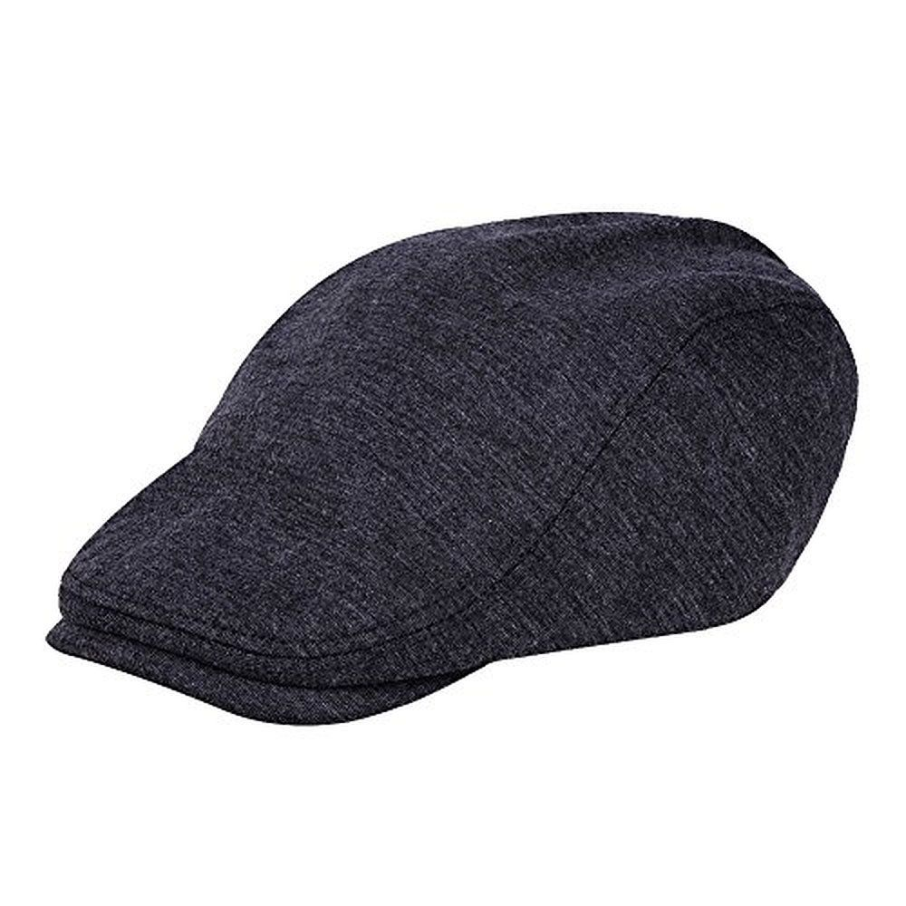 eefc6aec29b49 Vbiger Pure Wool Beret Hunting Newsboy Cap Hat
