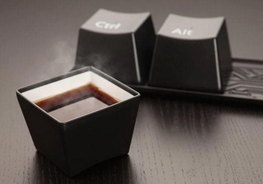 Really cool mug   http://www.designose.com/2012/10/24/ctrl-alt-delete-cup-set