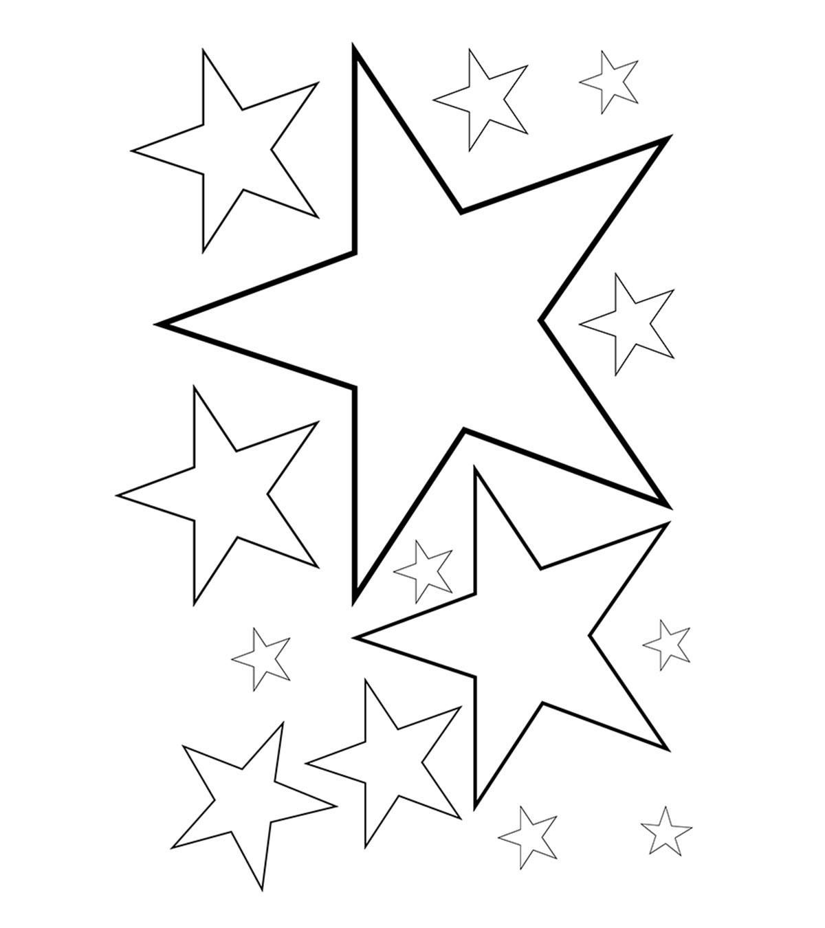 16 Coloring Page Stars Moon Coloring Pages Star Coloring Pages Flower Coloring Pages