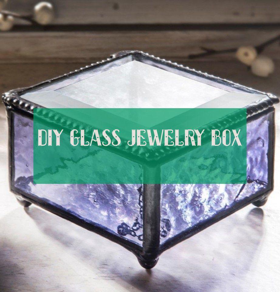 diy glass jewelry box