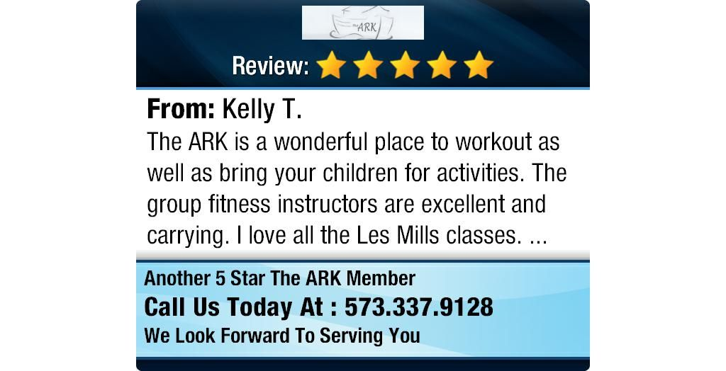 The ARK is a wonderful place to workout as well as bring your children for activities. ...