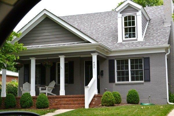 Good Painted Brick House.