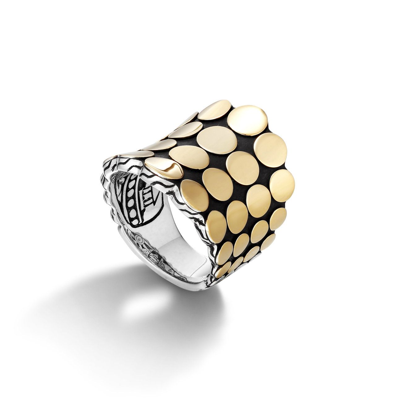 DOT COLLECTION Saddle Ring (width 23mm)   John Hardy Online Boutique