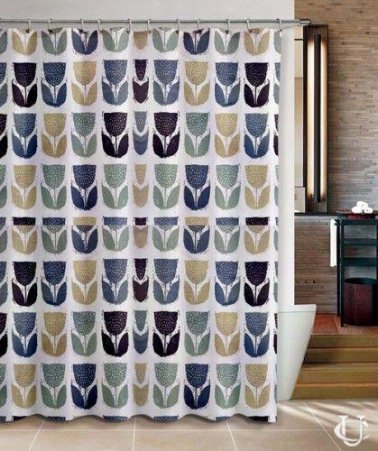 Cheap Orla Kiely patern Cute Inspirate design Shower Curtain   Orla ...