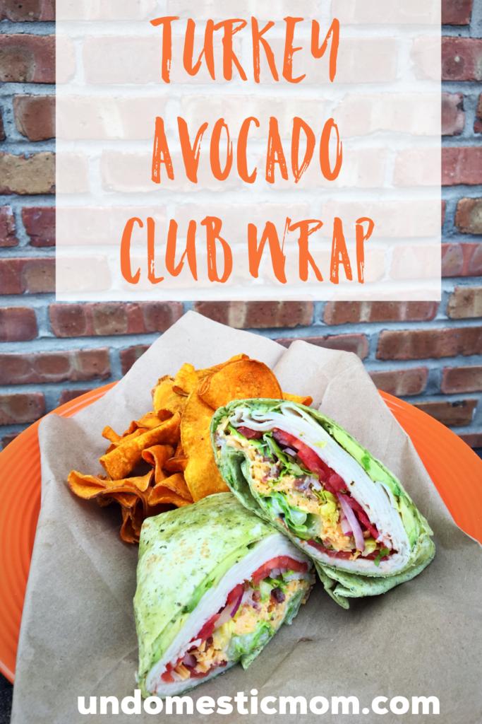 Turkey Avocado Club Wrap images