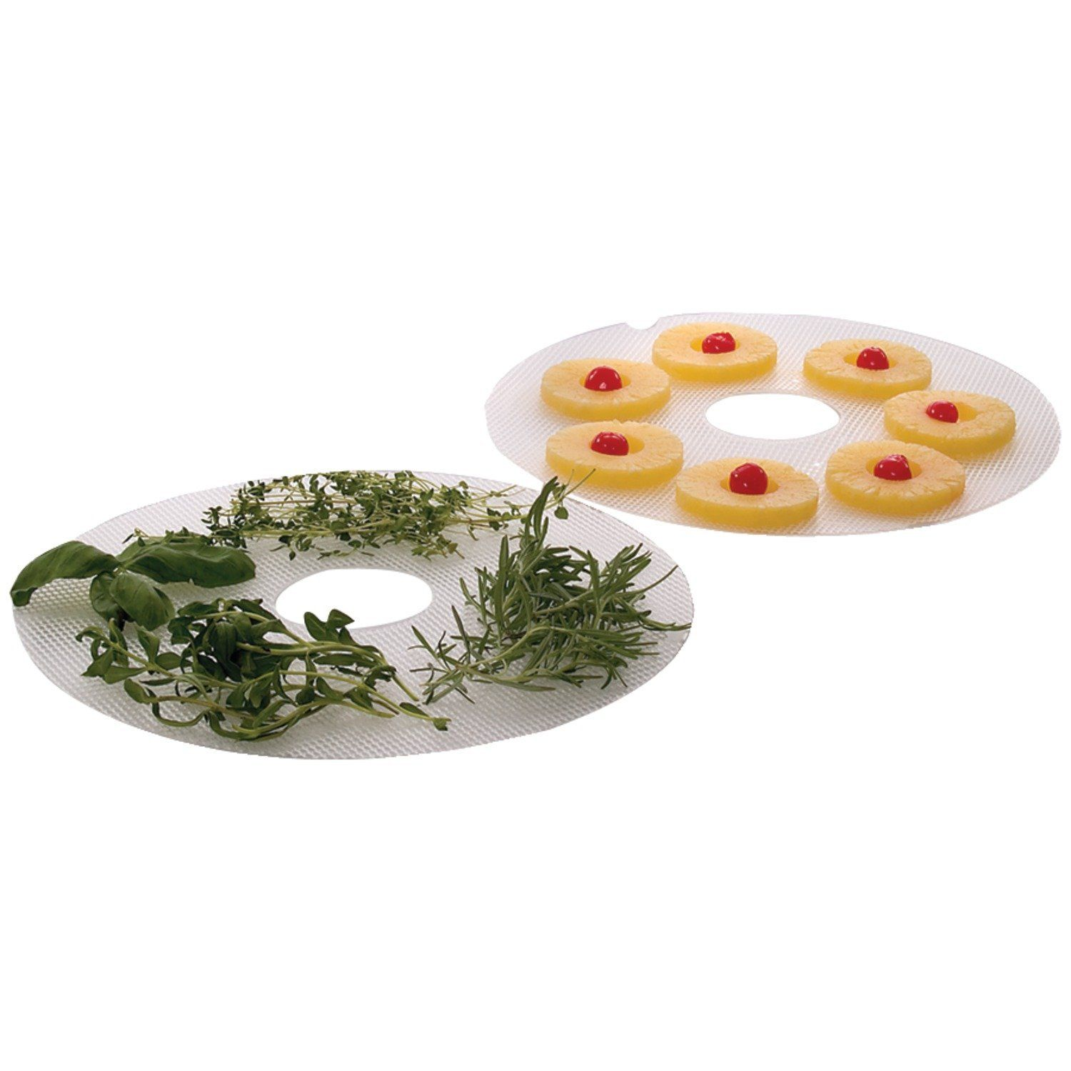 Amazon.com: Nesco LM-2-6 Clean-A-Screen Tray for FD-28JX/FD-37/FD-60/FD-61/FD-61WHC/FD-75A and FD-75PR, Set of 2: Dehydrators: Kitchen & Dining