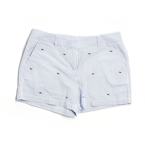 Pre-owned Vineyard Vines Shorts ($42) ❤ liked on Polyvore featuring shorts, blue, vineyard vines, blue shorts and vineyard vines shorts