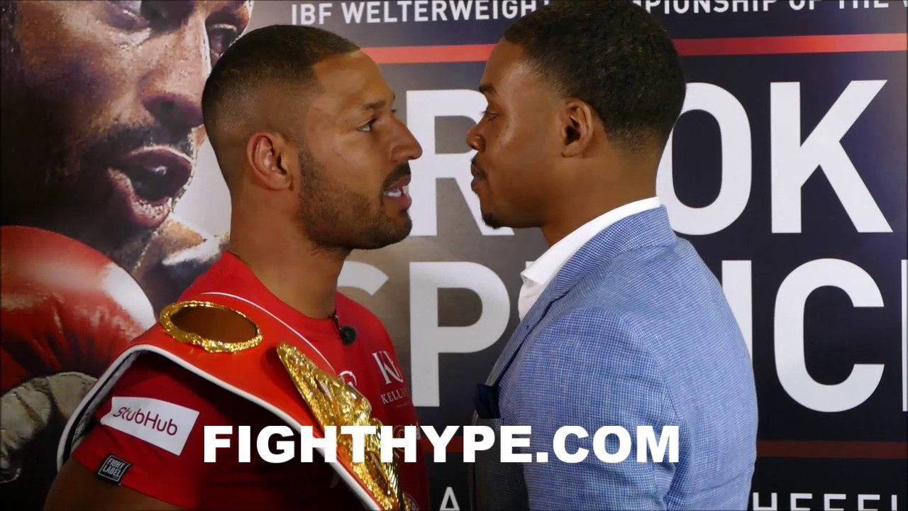 (WOW!!!) KELL BROOK AND ERROL SPENCE JR. TRADE WORDS