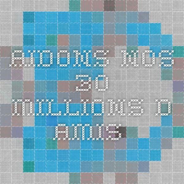 Aidons nos 30 MILLIONS D AMIS Clic ici : https://30millionsdamis.akaraisin.com/pledge/Participant/Home.aspx?seid=9831&mid=9&pid=2080370  ----------  To HELP OUR FURRY FRIENDS OF ALL KIND, please, click here : https://30millionsdamis.akaraisin.com/pledge/Participant/Home.aspx?seid=9831&mid=9&pid=2080370