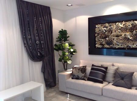 diseño cortinas salon | DECORACION | Pinterest