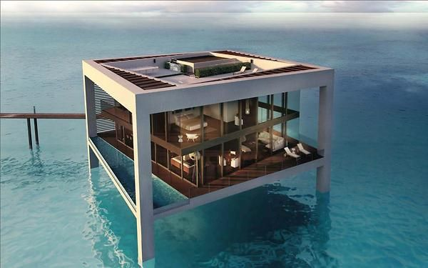 Awesome house over the water.