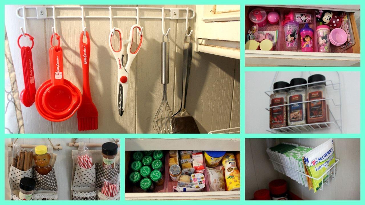 easy dollar store kitchen organization ideas shop daiso