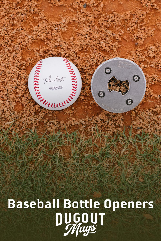 Pin On Baseball Bottle Openers