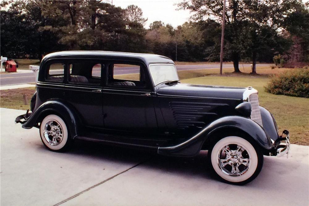 1934 DODGE CUSTOM - Barrett-Jackson Auction Company - World's Greatest Collector Car Auctions