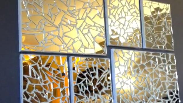 DIY project Mirror Mosaic Art   Mosaic   Pinterest   Mosaic, Mirror ...