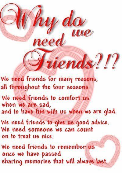 Why do we need friends? friendship quote friend friendship quote ...