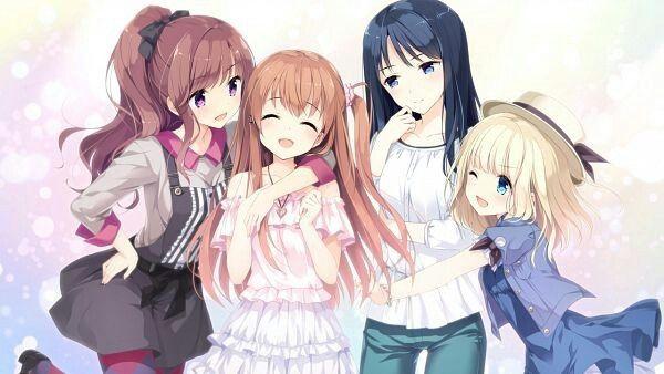 Pin By Limon San On Anime Girls Blonde Hair Blue Eyes Hair Game