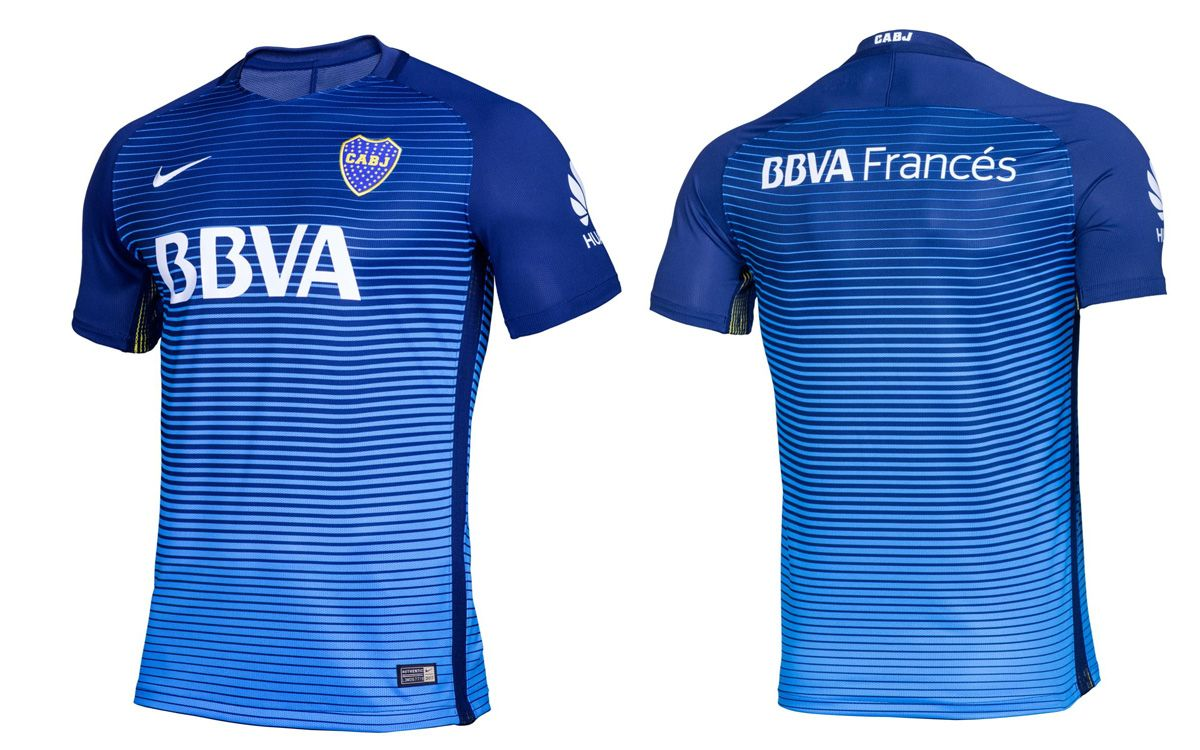 9e9bafff4b Terceira camisa do Boca Juniors 2016-2017 Nike kit