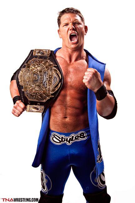 Tna World Champion Phenomenal A J Styles Tna Impact Wrestling Aj Styles Wrestling Superstars