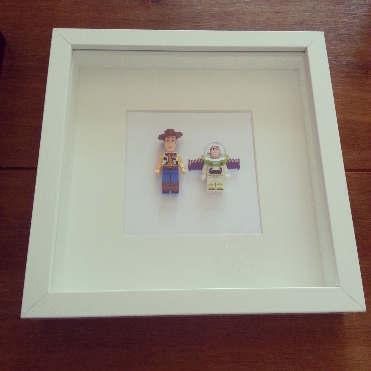 You got a friend in me frame Toy story buzz woody minifigures | Toy ...