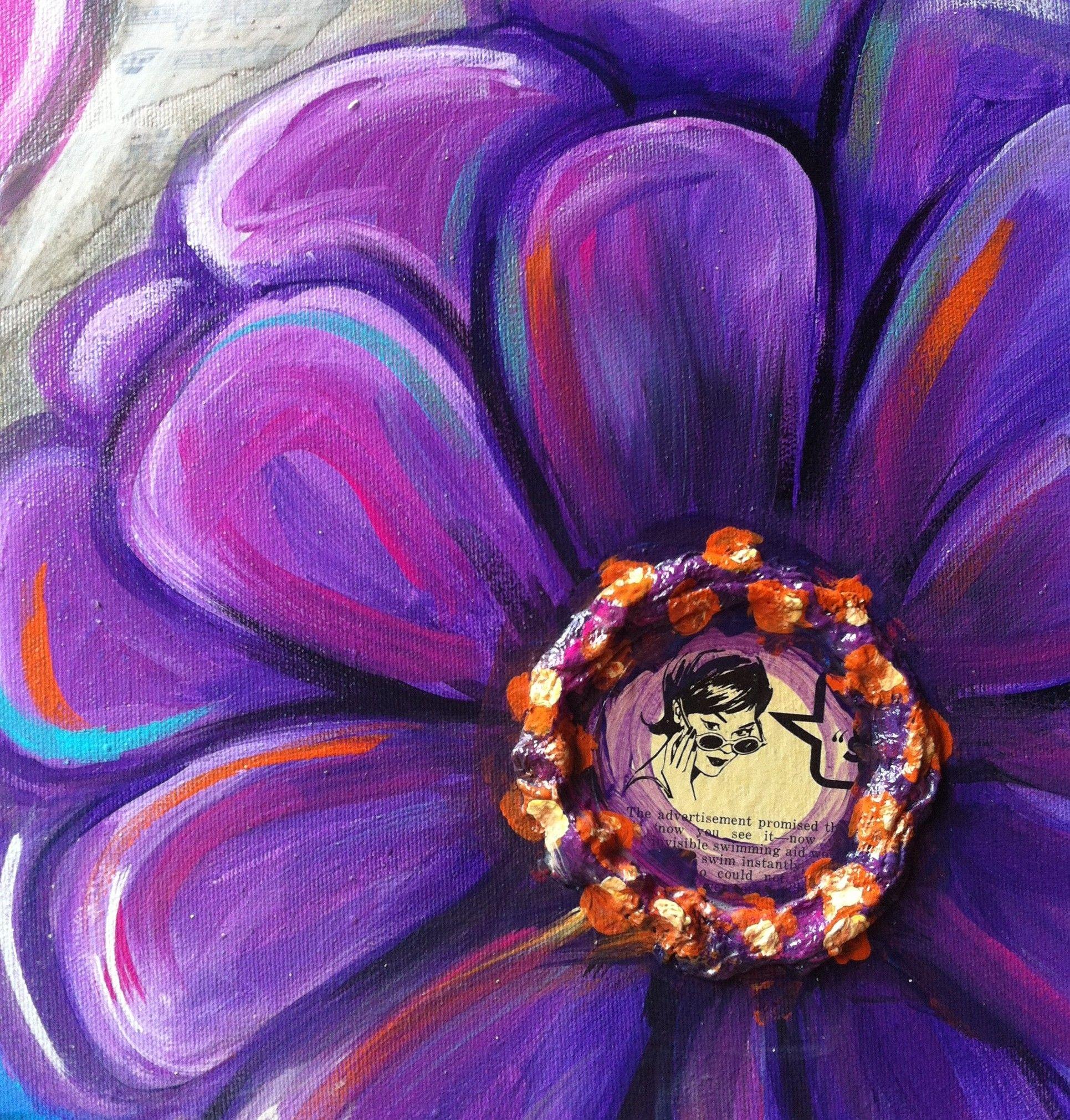 Purple Flower Detail E1372365494848 (1931 2021)
