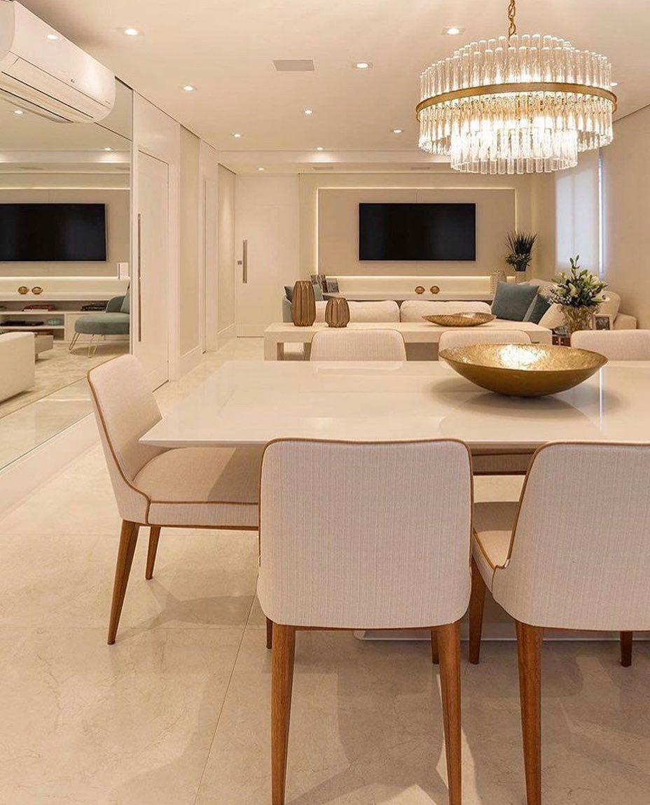"""Photo of ⠀⠀⠀⠀ • GUSTAVO CÉSAR PIASSALE • en Instagram: """"Hermosa habitación integrada, súper limpia! 💗 Autoría: Monise Rosa Arquitetura """""""